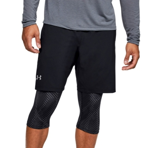 Pantaloncino Running Uomo Under Armour Launch Print 2 in 1 9in Pantaloncini  Black 13554800001