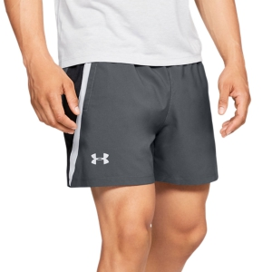 Pantaloncino Running Uomo Under Armour Launch Stretch Woven 5in Pantaloncini  Gray 13265710012