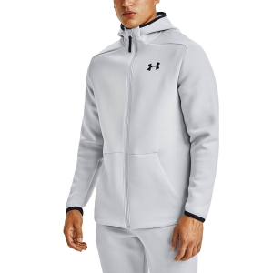 Men's Fitness & Training Shirt and Hoodie Under Armour Move Hoodie  Halo Gray/Black 13549740014