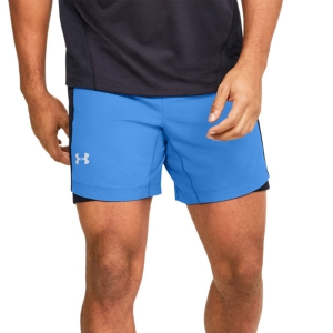 Men's Running Short Under Armour Qualifier Speedpocket 7in Shorts  Blue 13266000464