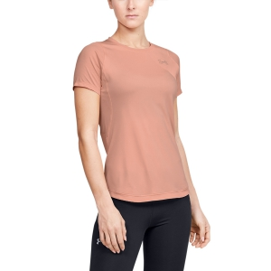 Under Armour Qualifier Iso-Chill T-Shirt - Pink