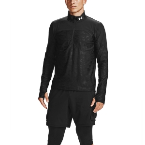 Under Armour Qualifier Stealth Shirt - Black/Reflective