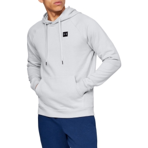 Men's Sweatshirt and Shirts Under Armour Rival Fleece Hoodie  Gray 13207360014