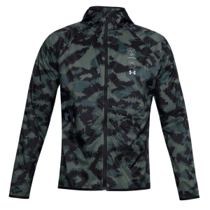 Men's Running Jacket Under Armour Run Anywhere Storm Jacket  Lichen Blue/Electric Blue/Reflective 13561610424