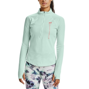 Maglia Running Donna Under Armour Speed Stride Attitude Maglia  Seaglass Blue/Beta/Reflective 13562180403