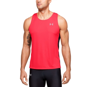 Men's Running Sleeveless Under Armour Speed Stride Tank  Red 13265370628