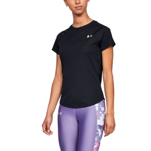 Women's Running T-Shirts Under Armour Speed Stride TShirt  Black 13264620001