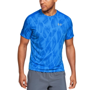 Men's Running T-Shirt Under Armour Speed Stride Printed TShirt  Blue 13267780486