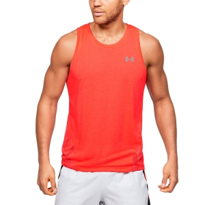 Men's Running Sleeveless Under Armour Streaker 2.0 Tank  Red 13507670628