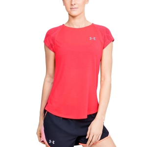 Women's Running T-Shirts Under Armour Streaker 2.0 TShirt  Red 13500700628
