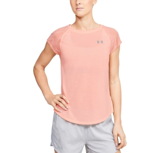 Women's Running T-Shirts Under Armour Streaker 2.0 TShirt  Orange 13500700845