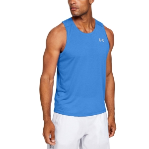 Men's Running Sleeveless Under Armour Streaker Tank  Blue 13265780464