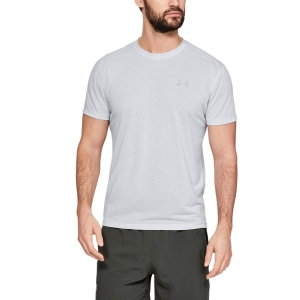 Men's Running T-Shirt Under Armour Streaker TShirt  Gray 13265790014