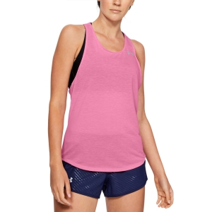 Women's Running Tank Under Armour Streaker Racer Tank  Pink 13264980691