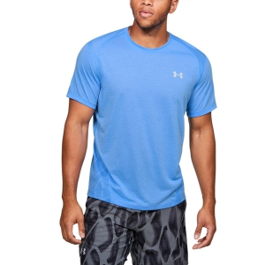 Men's Running T-Shirt Under Armour Streaker 2.0 Shift TShirt  Blue 13500960465