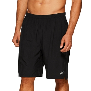 Men's Running Short Asics Logo 2 in 1 7in Shorts  Performance Black/Metropolis 2011A575003