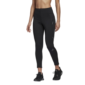 Women's Running Tight Adidas How We Do 7/8 Tights  Black FM7643