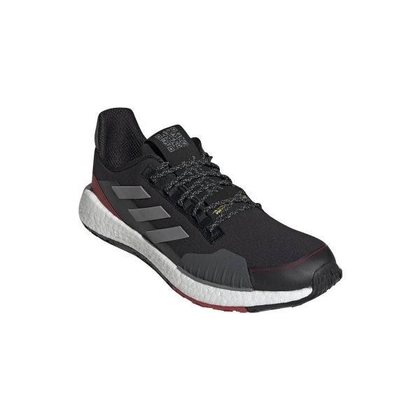 Adidas Pulseboost HD Guard - Core Black/Grey Three F17/Scarlet