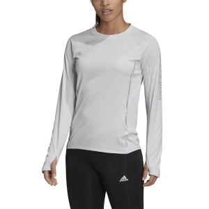 Adidas Reflective Logo Shirt - Dash Grey