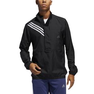 Adidas Run It 3 Stripe Giacca - Black