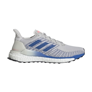 Scarpe Running Neutre Donna Adidas Solarboost 19  Grey One F17/Glory Blue/Light Flash Red EE4331