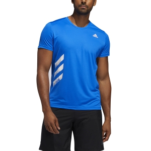 Men's Running T-Shirt Adidas Run It Primeblue TShirt  Glory Blue FR8377