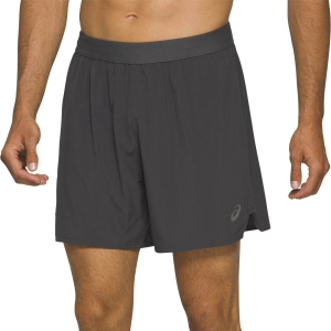 Men's Running Short Asics Road 7in Shorts  Graphite Grey 2011A768020