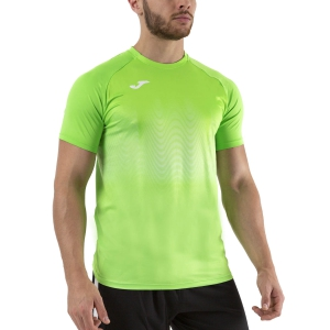 Men's Running T-Shirt Joma Elite VII TShirt  Fluor Green 101519.020