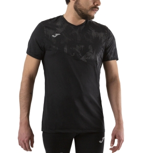 Men's Running T-Shirt Joma Night Reflective Raco TShirt  Black 101409.171