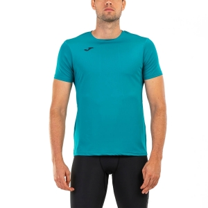Men's Running T-Shirt Joma Night Reflective Salinas TShirt  Green 101425.422