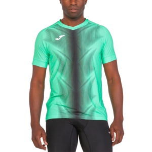 Men's Running T-Shirt Joma Olimpia Graphic TShirt  Green/Black 101370.401