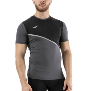 Men's Running T-Shirt Joma Trail Race TShirt  Anthracite 101406.151
