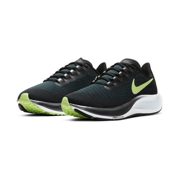 Nike Air Zoom Pegasus 37 - Black/Ghost Green/Valerian Blue