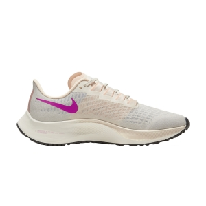 Women's Neutral Running Shoes Nike Air Zoom Pegasus 37  Pale Ivory/Ghost Barely/Volt Sail BQ9647102