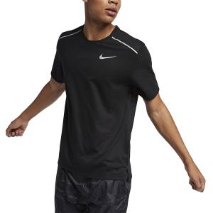Nike Rise 365 Maglietta - Black/Reflective Silver