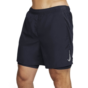Men's Running Short Nike Challenger 2 in 1 7in Shorts  Obsidian/Reflective Silver AJ7741451
