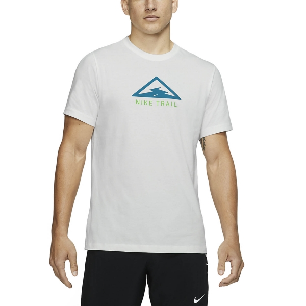 Nike Dri-FIT Trail T-Shirt - White