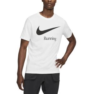 Nike Dry Run Maglietta - White/Black