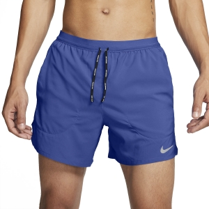 Nike Flex Stride 5in Shorts - Astronomy Blue/Reflective Silver