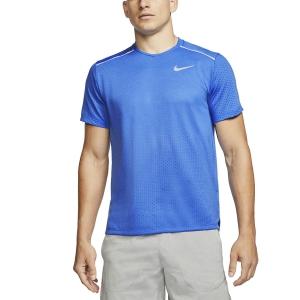 Nike Rise 365 Maglietta - Pacific Blue/Reflective Silver