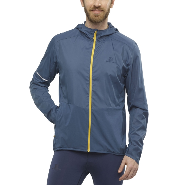 Salomon Agile Jacket - Dark Denim