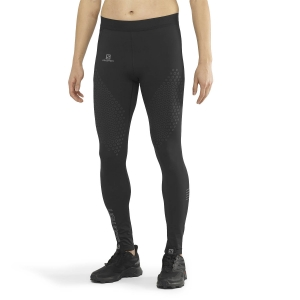 Pantalones Running Hombre Salomon Exo Motion Tights  Black/Silver LC1373400