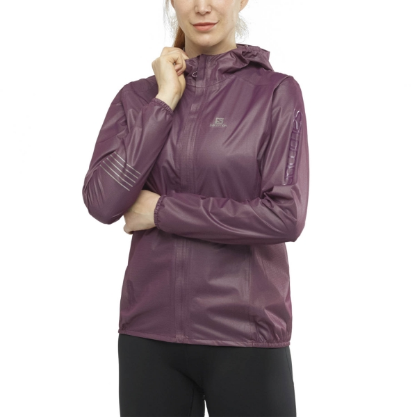 Salomon Lightning Race WP Jacket - Wine Tasting