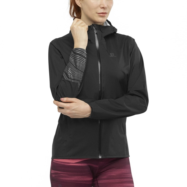 Salomon Lightning WP Jacket - Black/Reflect