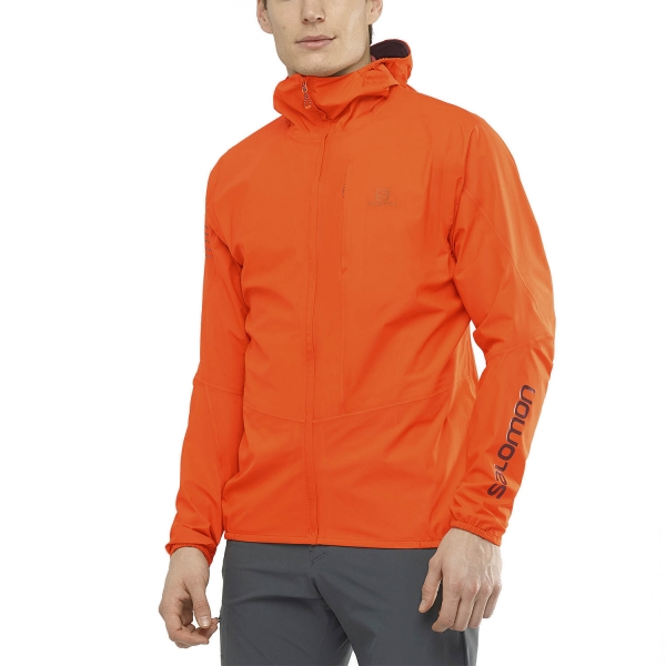 Salomon Outspeed 360 3L Jacket - Red Orange