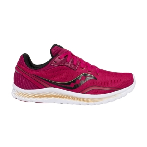 Women's Performance Running Shoes Saucony Kinvara 11  Berry/Gold 1055120