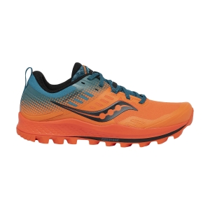 Saucony Peregrine 10 ST - Orange/Blue