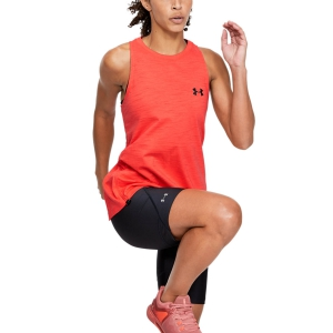 Under Armour Charged Cotton Adjustable Tank - Red