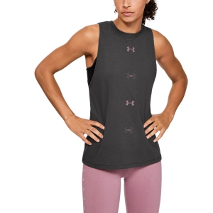 Women's Fitness & Training Tank Under Armour Graphic Muscle Tank  Gray 13517550010