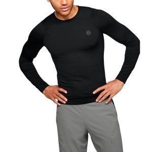 Maglia e Felpa Fitness e Training Uomo Under Armour Rush Compression Maglia  Black 13534470001